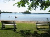 Kahshe Lake Beach